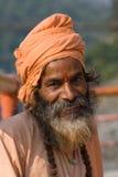 Indian sadhu (holy man).  India. Royalty Free Stock Images