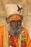 Indian sadhu (holy man).  India. Stock Photography