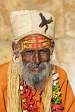Indian sadhu (holy man) Stock Photo