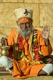 Indian sadhu , holy man Stock Photography