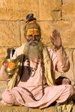 Indian sadhu (holy man) Stock Images