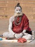 Indian sadhu (holy man). Varanasi, Uttar Pradesh, India. Stock Photo