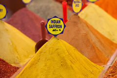 Indian Saffron, Istanbul, Turkey Royalty Free Stock Image