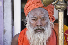An Indian Saint Stock Image