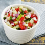 Indian Salad Kachumber Royalty Free Stock Photo