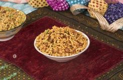 Mix Namkeen Food. Indian Salty and spicy food Mix Namkeen stock images