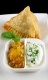 Indian Samosa 2 Royalty Free Stock Photos