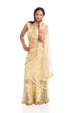 Indian saree costume stock images