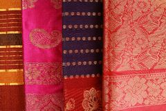 Indian Saree design. Royalty Free Stock Photos