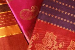 Indian Saree design. Royalty Free Stock Image