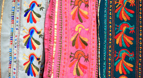 Indian saree designs Stock Images