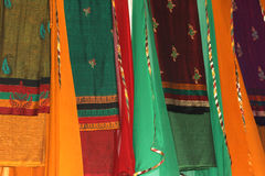 Indian sarees Royalty Free Stock Photo