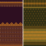 Indian Sari Borders Royalty Free Stock Image