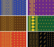 Indian Sari Borders Royalty Free Stock Photos