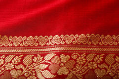 Indian sari close up Royalty Free Stock Photos