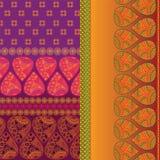 Indian Sari Design Royalty Free Stock Photography