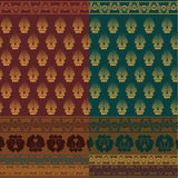Indian Sari Design Royalty Free Stock Images