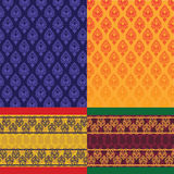 Indian Sari Design Stock Image