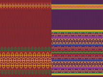 Indian Sari Design Stock Images