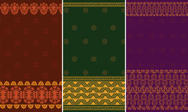 Indian Sari Design Royalty Free Stock Image