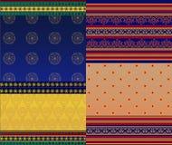 Indian Sari Design Stock Photos