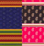 Indian Sari Design Royalty Free Stock Photos