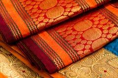 Indian saris royalty free stock photo