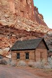 Indian schoo, house in Capitol Reff National park Stock Image