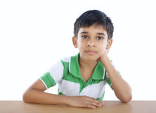 Indian School Boy Stock Images