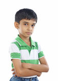Indian School Boy Royalty Free Stock Images