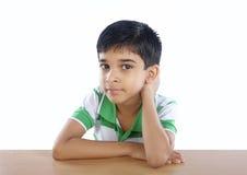 Indian School Boy Stock Photos
