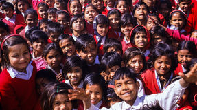 Indian School Children Stock Image