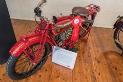 1920 Indian Scout 600cc Stock Images