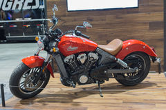 Indian Scout on display Stock Photography