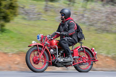 1942 Indian Scout Motorcycle Stock Image
