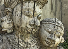 Indian sculpture Royalty Free Stock Photos