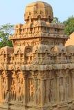 Indian sculpture art, Mahabalipuram Stock Image