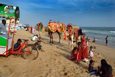 Indian Sea Beach Royalty Free Stock Image