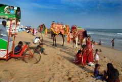 Indian Sea Beach Royalty Free Stock Image