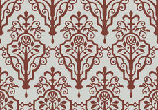 Indian seamless pattern. In brown and gray Royalty Free Stock Photos