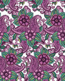 Indian seamless pattern Stock Photos