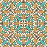 Indian seamless pattern Royalty Free Stock Photography