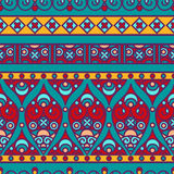 Indian seamless pattern Stock Photography