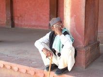 Indian Senior Citizen Royalty Free Stock Photos