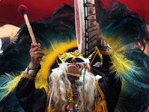 The Indian shaman Royalty Free Stock Images