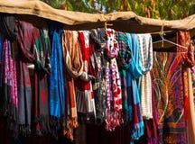 Indian shawls Royalty Free Stock Photo