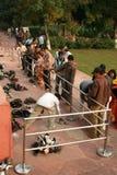 Indian shoe keeper Stock Photos