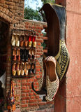 Indian Shoes Royalty Free Stock Photos