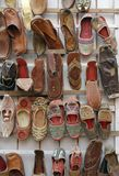 Indian shoes Royalty Free Stock Photo
