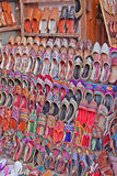 Indian Shoes For Sale Stock Photo